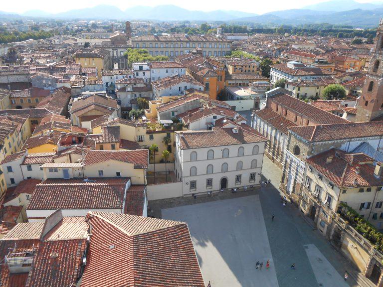 Lucca: lato ovest